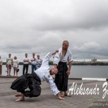 репортажна фотографія змагання майстрів айкідо