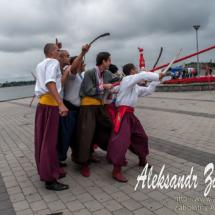 репортажна фотографія фестивалів, козаки, козацьке селфі
