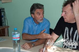 Репортажная фотография с деловой встречи