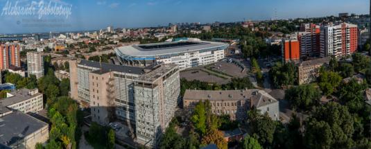 Днипро-Арена панорамная фотография