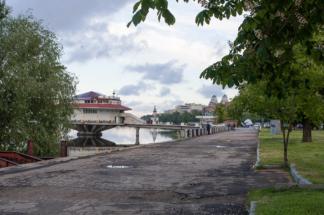 набережна та ресторан поплавок, Дніпро